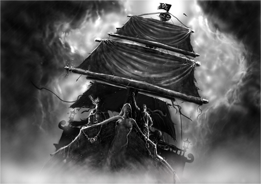 Barco por Víctor Bravo